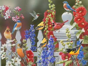 Birds - Spring-Summer Theme by William Vanderdasson