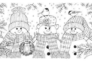 Christmas Cuties 31 by William Vanderdasson