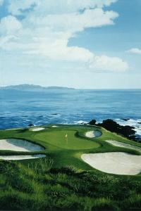 Golf Course 5 by William Vanderdasson