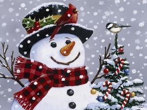 Snowman by William Vanderdasson
