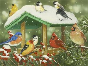 Winter Treats by William Vanderdasson