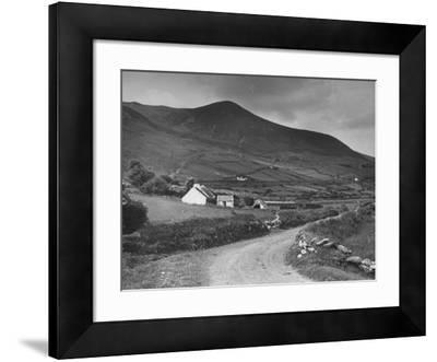 A View Showing a Hillside on Dingle Peninsula, Kerry County, Ireland