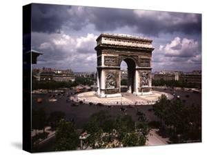 Arc de Triomphe in Paris by William Vandivert