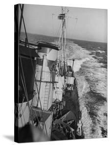 British Navy-H.M.S. Grenville by William Vandivert