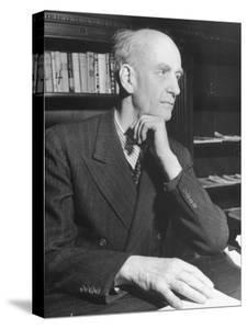 German Conductor Wilhelm Furtwangler by William Vandivert
