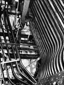 Man Working in a Power Plant by William Vandivert