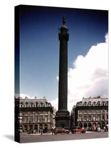 Napoleon's Monument in Place Vendome by William Vandivert