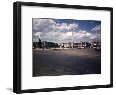 Place de La Concorde with the Ancient Obelisk, Showing Hotel Crillon and the Ministry of the Navy