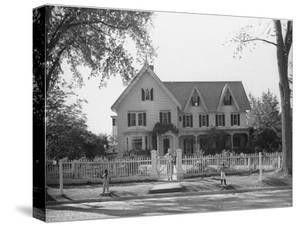Seven Gables, Summer Home of William Lyon Phelps, Famed Literature Prof. Emeritus of Yale Univ by William Vandivert