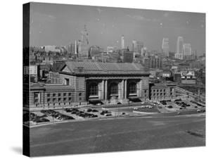 View of Kansas City by William Vandivert