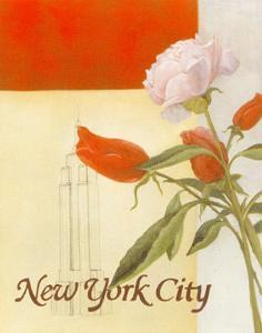New York Floral Views by William Verner