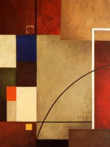 Red Squares I by William Verner