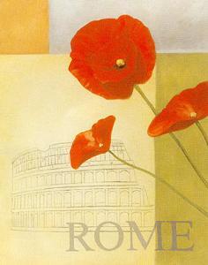 Rome Floral Views by William Verner
