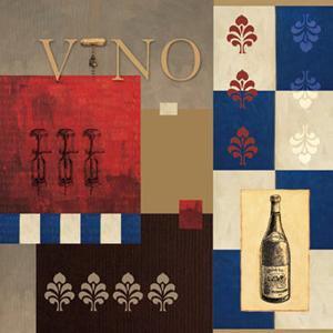Vino in Blue II by William Verner