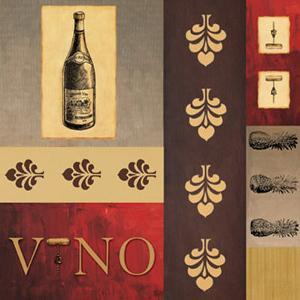 Vino in Red II by William Verner