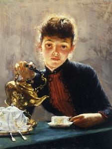 A Cup of Tea by William Verplanck Birney