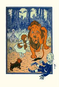 The Cowardly Lion by William W. Denslow