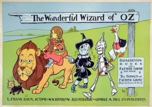 The Wonderful Wizard of Oz and Father Goose, C.1900 by William W. Denslow