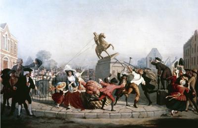King George III Statue, 1776 by William Walcutt