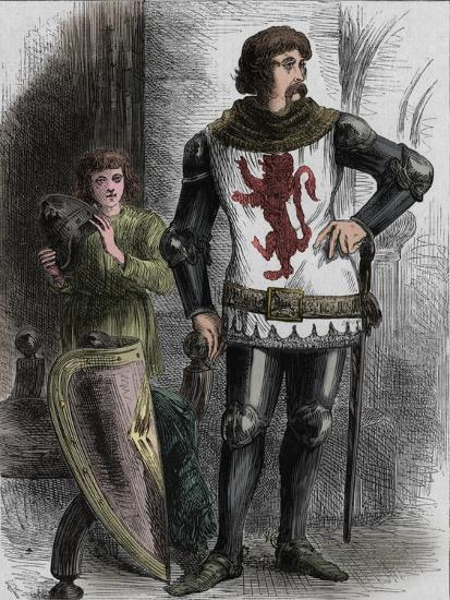 'William Wallace', c1270-1305, (c1880)-Unknown-Giclee Print