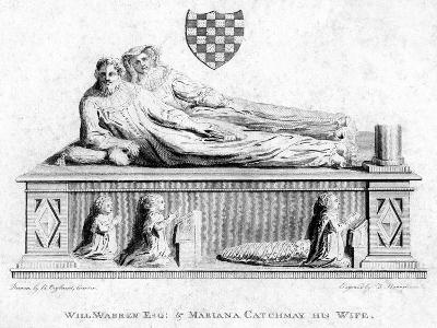 William Warren and His Wife, Mariana Catchmay, 1788--Giclee Print