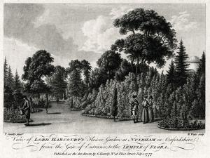 View of Lord Harcourt's Flower Garden at Nuneham in Oxfordshire, 1777 by William Watts