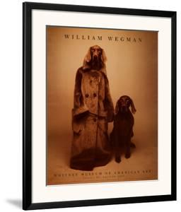 Dog Walker by William Wegman