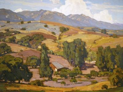 Foothill Ranch by William Wendt