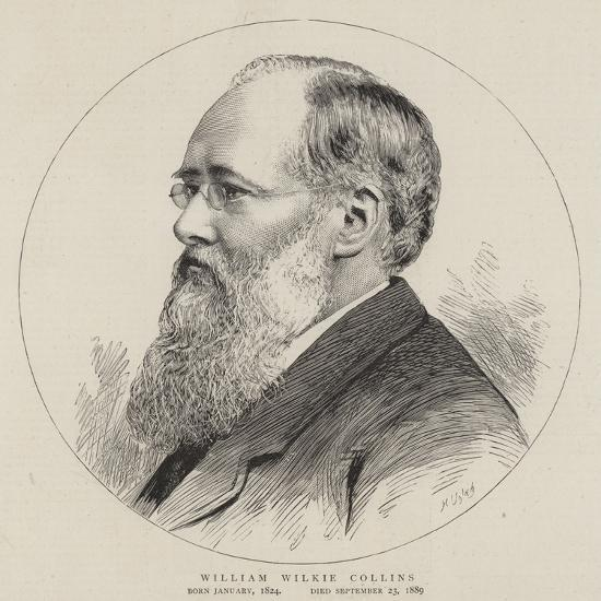 William Wilkie Collins--Giclee Print