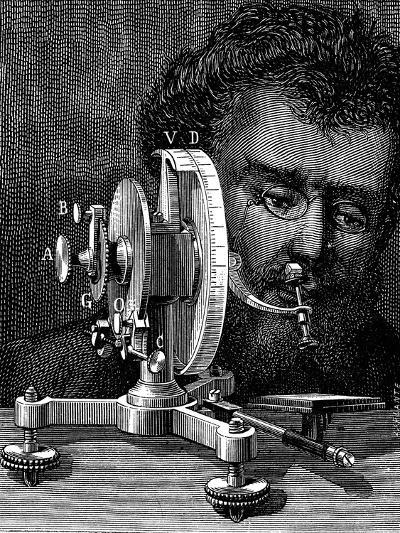 William Wollaston's Reflecting Goniometer for Measuring the Angles of Crystals, 1874--Giclee Print