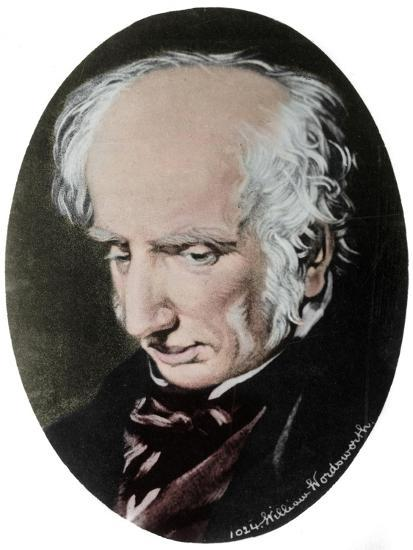 William Wordsworth, English poet-Unknown-Giclee Print