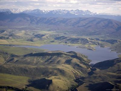 Williams Fork Reservoir Provides Water for Denver 70 Miles Away, Colorado-Michael S^ Lewis-Photographic Print