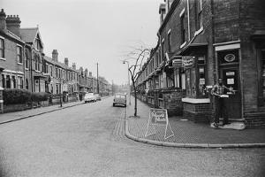 The Corner Shop in Marshall Street, Smethwick. 1964 by Williams