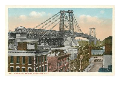 Williamsburg Bridge, New York City--Art Print