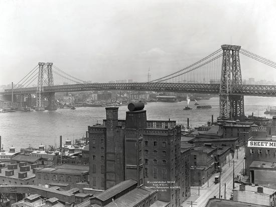 Williamsburg Bridge--Photographic Print