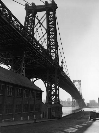 Williamsburg Bridge-Frederic Lewis-Photographic Print