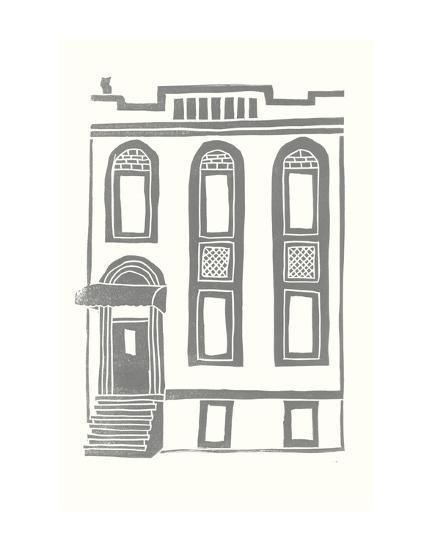 Williamsburg Building 2 (199 Maujer Street)-live from bklyn-Art Print