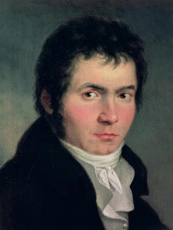 Ludwig Van Beethoven (1770-1827), 1804 by Willibrord Joseph Mahler
