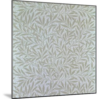 Willow Wallpaper Design, 1874-William Morris-Mounted Giclee Print