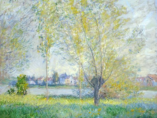 Willows at Vetheuil, 1880-Claude Monet-Giclee Print