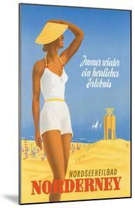 Nordseeneilbad Norderney Resort: Always a Wonderful Experience, c.1949 by Willy Hanke