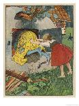 Gretel Seizes Her Opportunity and Pushes the Wicked Witch into the Oven-Willy Planck-Premium Giclee Print