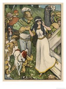 Snow White Miraculously Comes Back to Life and is Reunited with Her Prince by Willy Planck