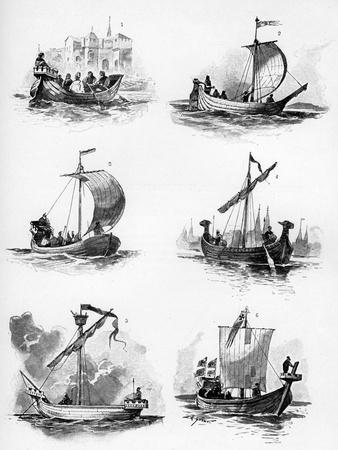 Ships of the Hanseatic League of the 14th and 15th Century