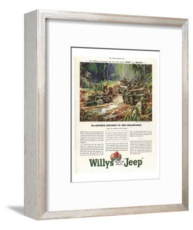 Willys Builds the Mighty Jeep