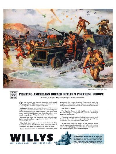 Willys - Fighting Americans?--Art Print