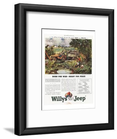 Willys Jeep - Born for War
