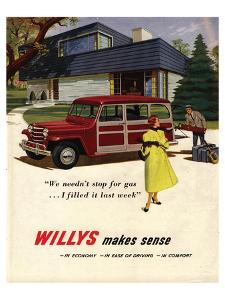 Willys Makes Sense in Economy…