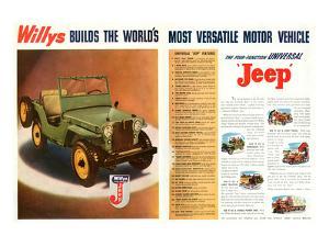 Willys- World's Most Versatile