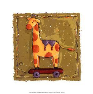Giraffe by Wilma Sanchez